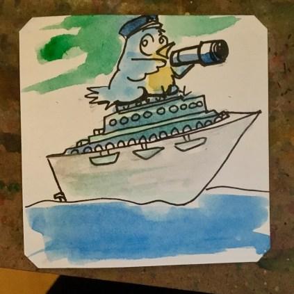 Bird boat- Atlantia PC98 @Macaw45