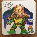 Pizza'd TMNT @Macaw45
