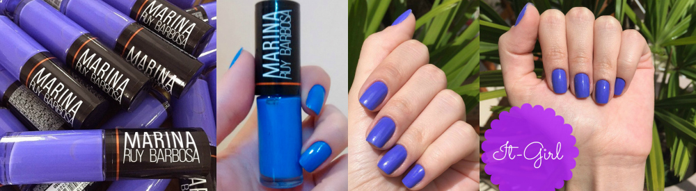 Esmalte it girl Marina Ruy Barbosa