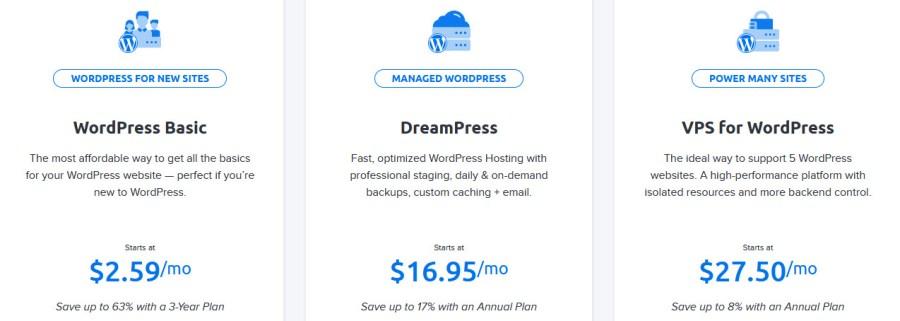 DHWordPressHosting - DreamHost Web Hosting Review