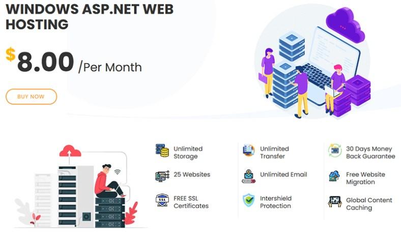 InterServerAspPlan - InterServer Hosting Review