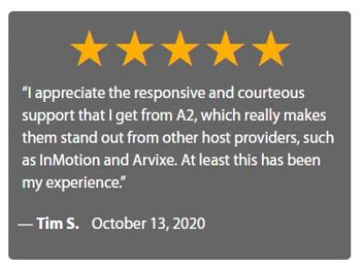 A2HostingTestimonial4 300x222 - A2 Web Hosting Review