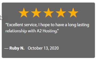 A2HostingTestimonial7 300x184 - A2 Web Hosting Review