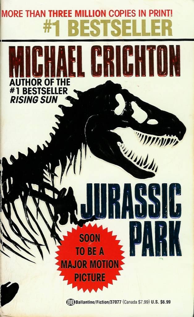 Michael Crichton jurassic park book series