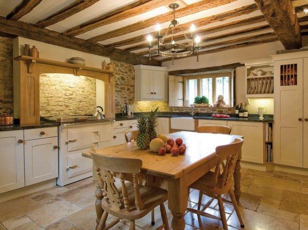 Интерьер кухни своими руками в частном доме – фото ...