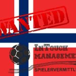 Agency InTouch search for Norway 2.League Goalkeeper Woman and a Playmaker Woman