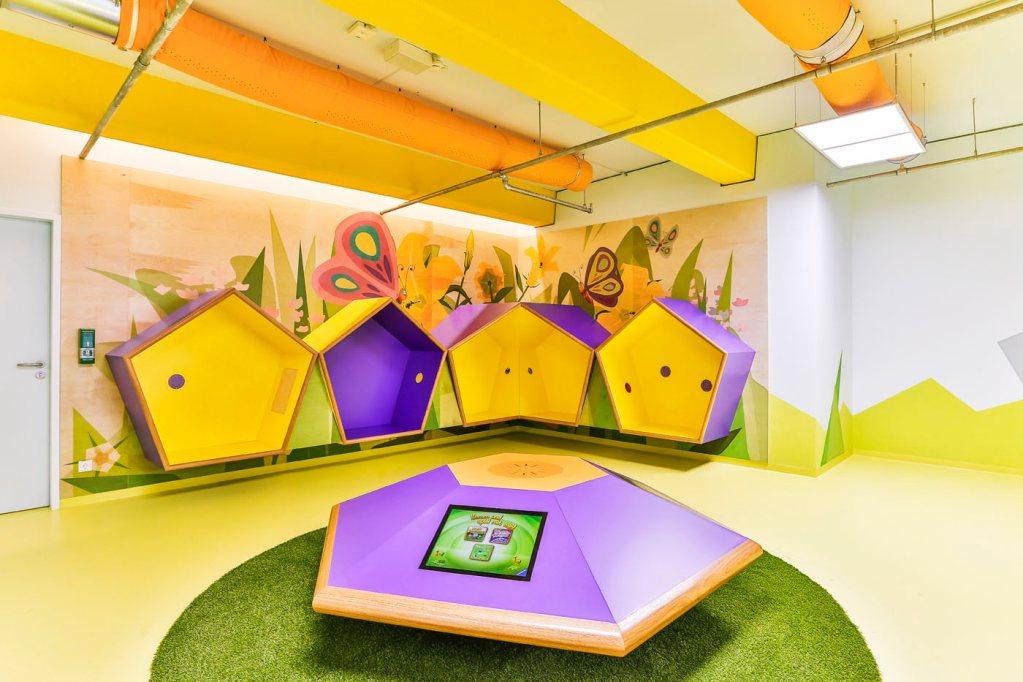 Erlebniswelten - Kindererlebniswelten - Kommunikationsbereich und Kinder-Touch-Computer - Centrolino Kinderland - Centro Oberhausen