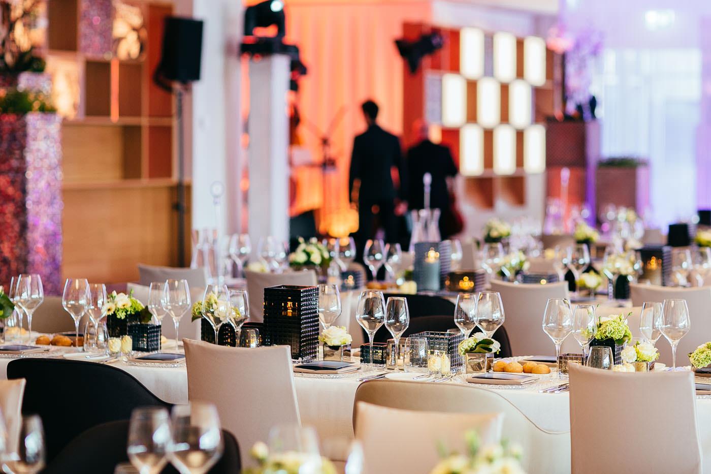 Events, Gala, Veranstaltung, Tischdekoration,  Ravensburger, Agentur Ravensburger