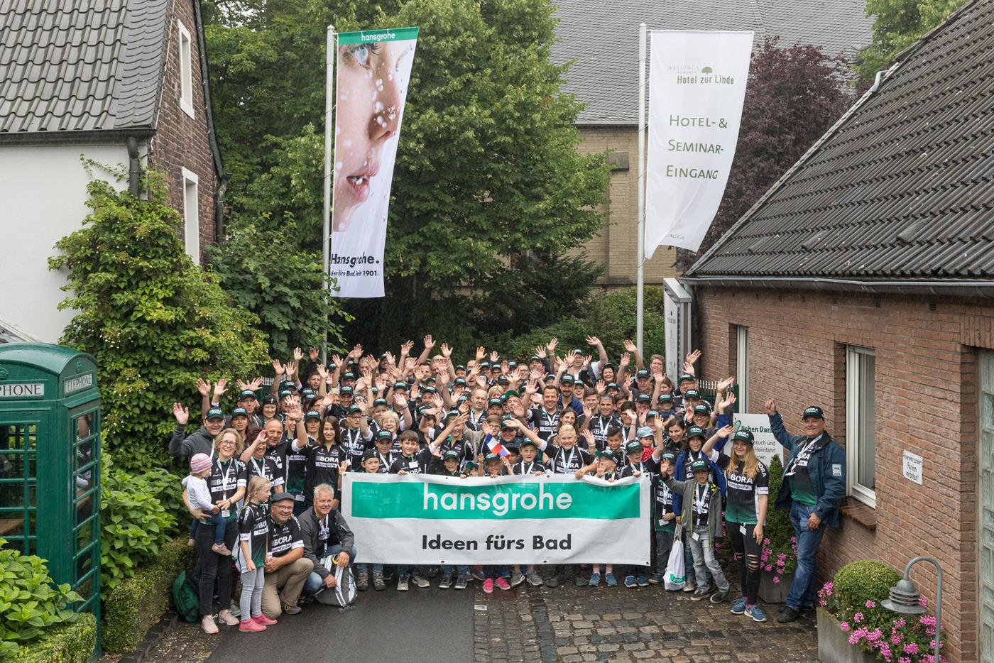 Events, Veranstaltungen, Hansgrohe, I-Club, Familienfest, Incentive, I-Club Mitglieder, Düsseldorf, Tour de France,  Agentur Ravensburger