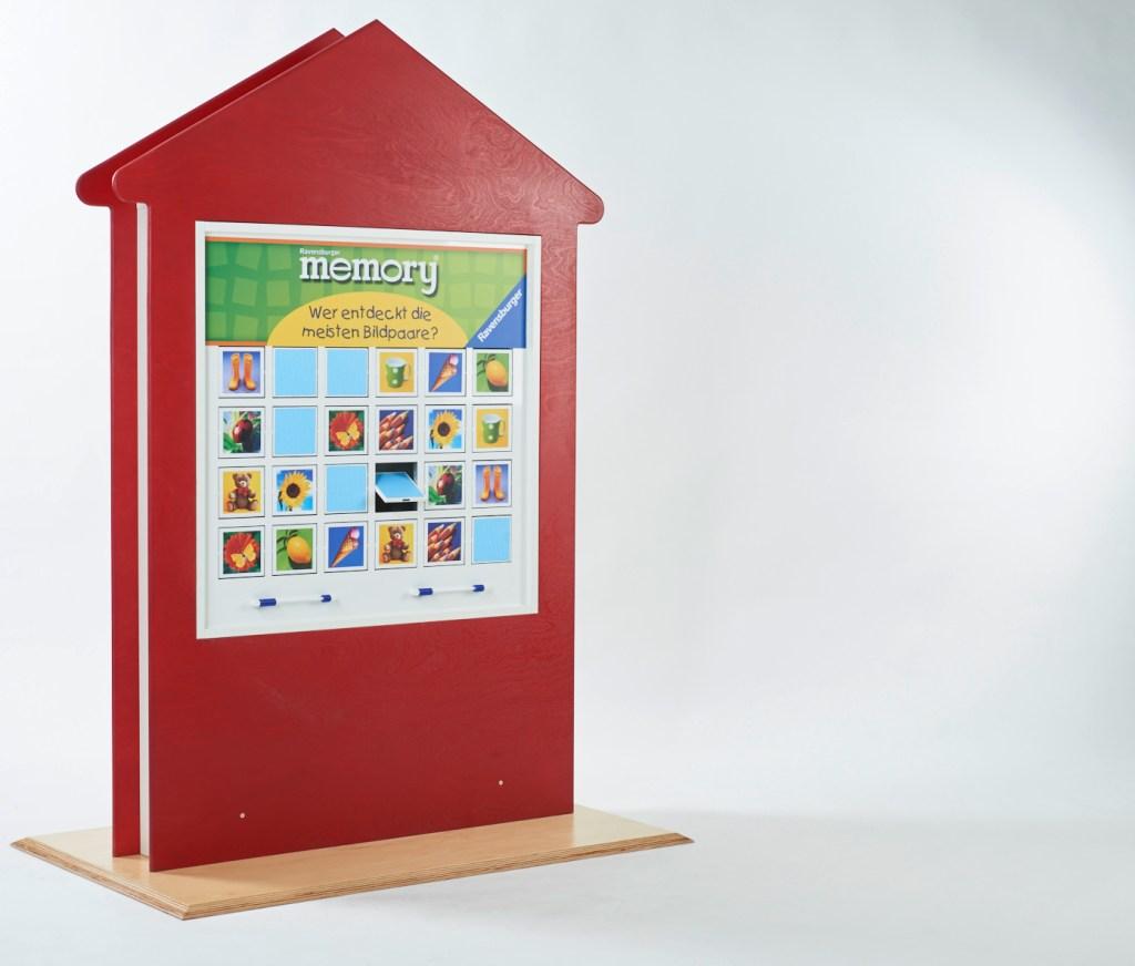 Ravensburger, Spielelement, Junior memory®, Standelement Haus, merken, Spieleklassiker, Wartezimmer, Großspiel, Wandspiel, Suchspiel