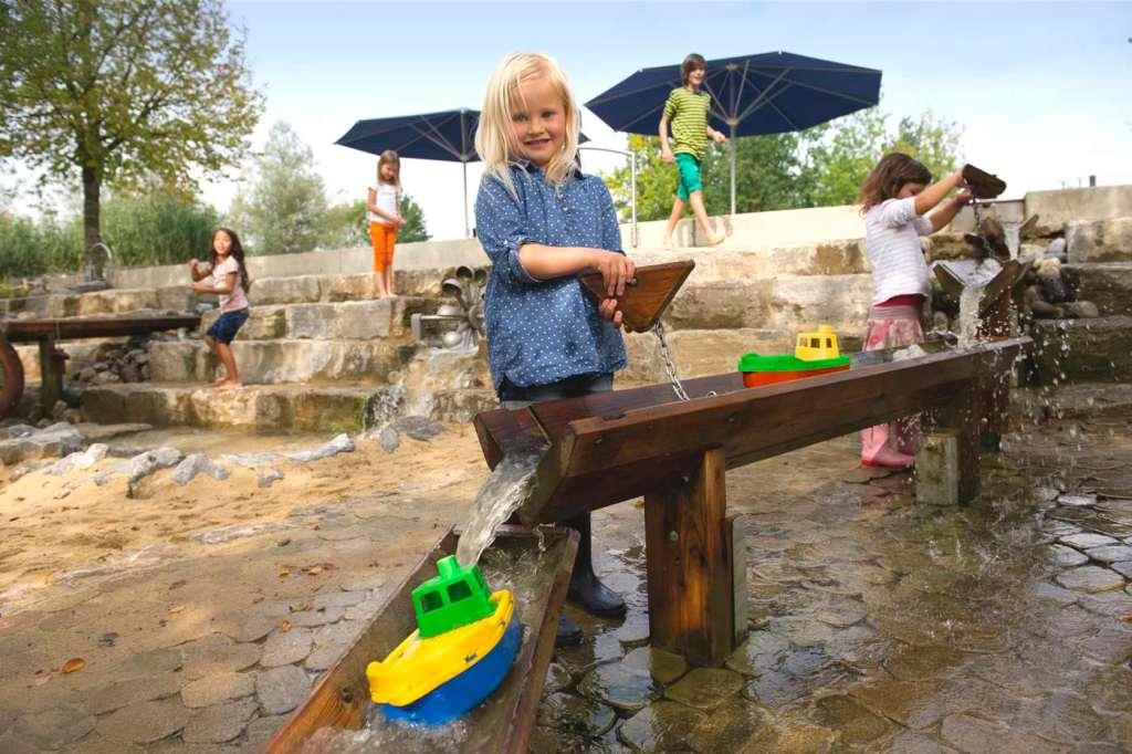 Ravensburger Spieleland, Freizeitpark, Erlebniswelten, Kindererlebniswelten, Markenerlebniswelten, Meckenbeuren, EnBW, EnBW Wasserwald, Wasserpark, Agentur Ravensburger