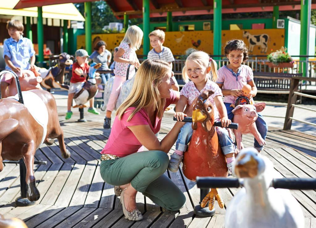 Ravensburger Spieleland, Freizeitpark, Erlebniswelten, Kindererlebniswelten, Markenerlebniswelten, Meckenbeuren, Tierkarussell, Grüne Oase, Agentur Ravensburger