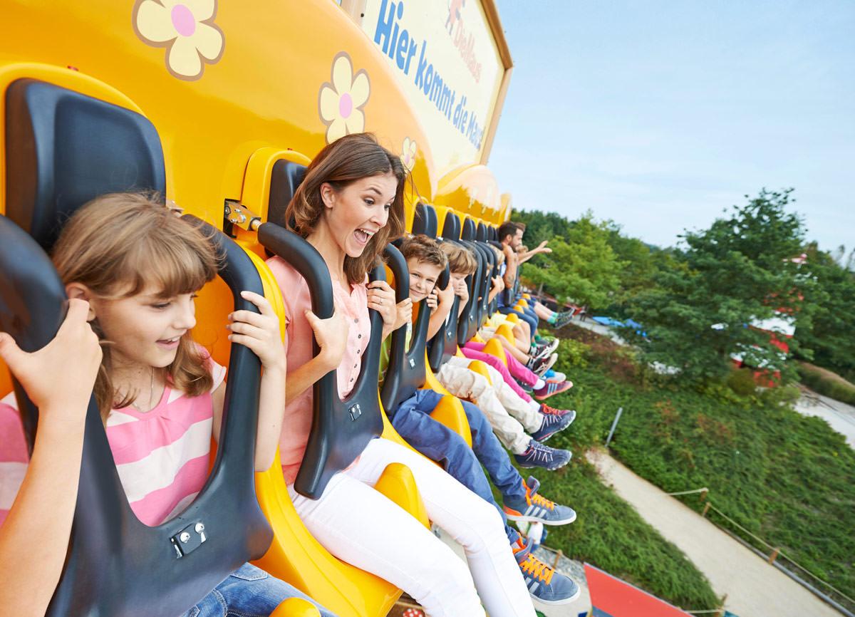 Ravensburger Spieleland, Freizeitpark, Erlebniswelten, Kindererlebniswelten, Markenerlebniswelten, Meckenbeuren, Freifallturm, Maus, Agentur Ravensburger