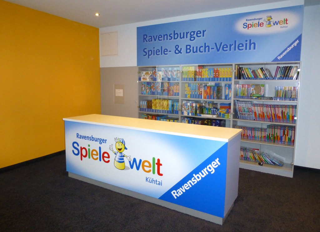 Ravensburger Spiele- und Buch-Verleih. Spielewelt Kühtai