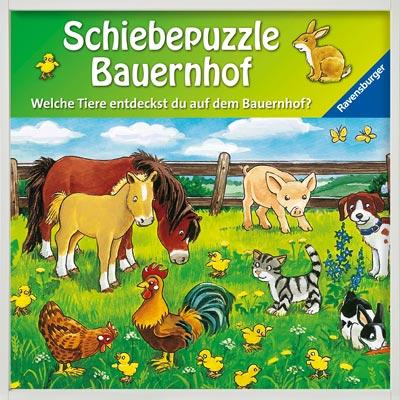 Schiebepuzzle Bauernhof