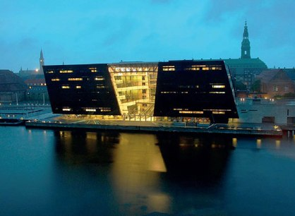 Dänische Nationalbibliothek in Kopenhagen