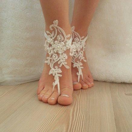 Brautsandalen
