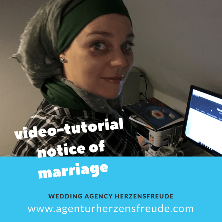 video tutorial: How can I fill out the form notice of marriage for getting married in denmark?