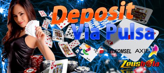 Bermain Taruhan Poker Deposit Pulsa Terlengkap