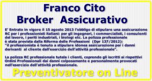 Franco Cito Broker - Preventivatore rc professionale