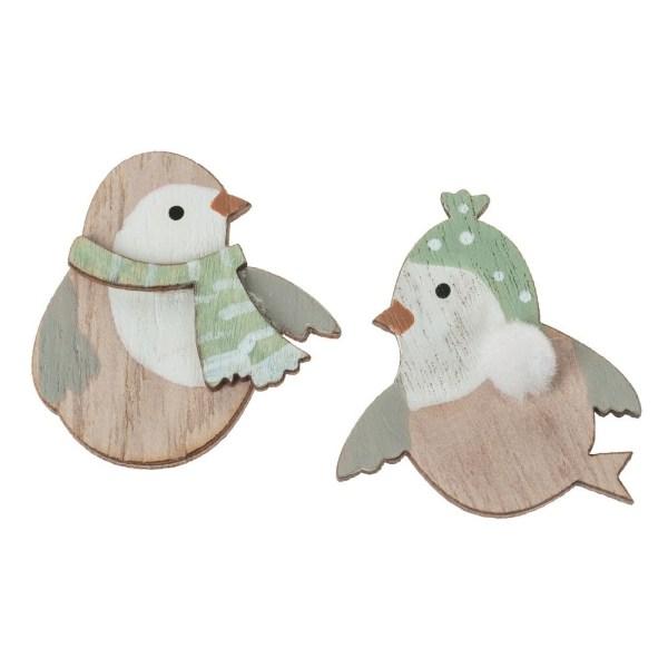 Figurine pasăre de Crăciun