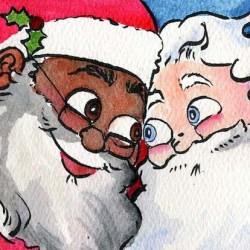 酷新聞:聖誕老公公是黑人同志?最新童書打破想像