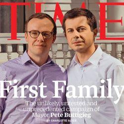 酷新聞:同志總統候選人與丈夫登《時代》雜誌封面