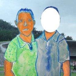 H.I.P 塗鴉簿:那一天我和我男朋友,一起走在路上跌倒了