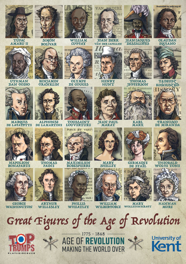 Age of Revolution Top Trumps poster