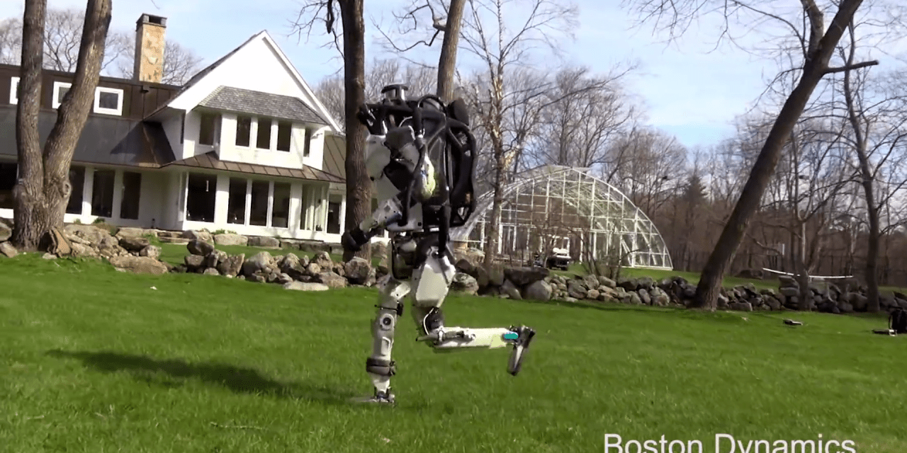 Boston Dynamics Continues to Wow!