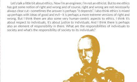 Ethics – Peter Corke