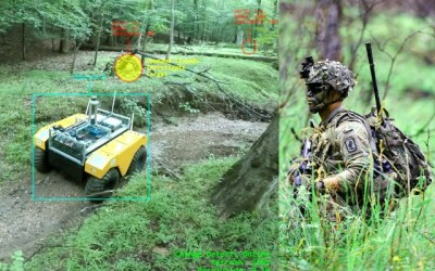 Army robo-teammate can detect & share 3-D changes in real-time