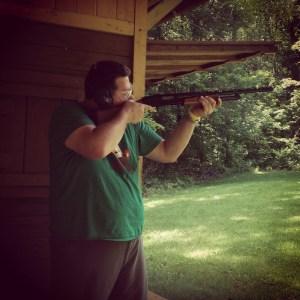 taking aim...