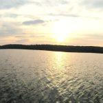 Panorama sun rise