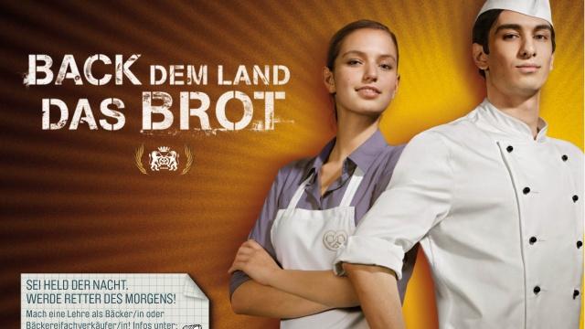 Nachwuchs-Kampagnen des Bäcker-Handwerks