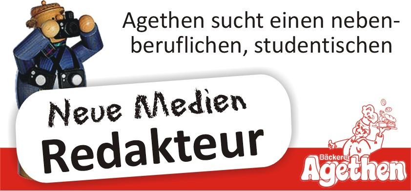 """Agethen sucht einen """"Neue Medien-Redakteur"""""""