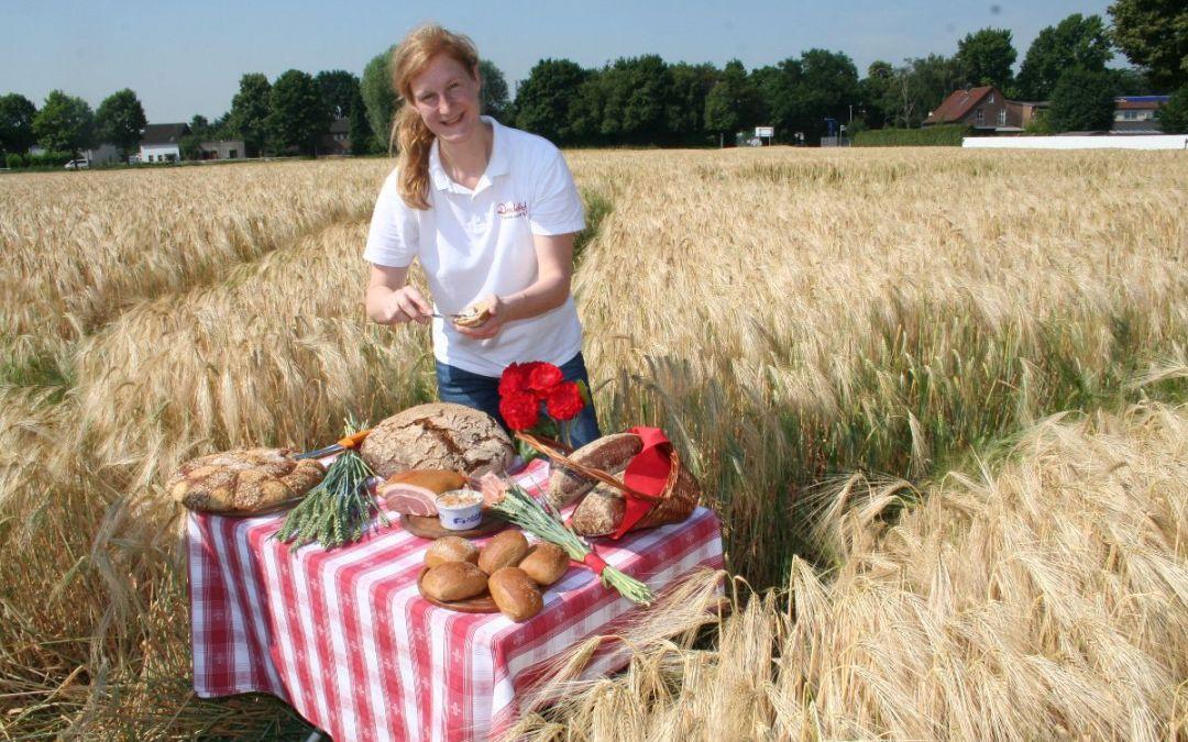 Ein Brot im Kornfeld, ein Morgen im Getreide