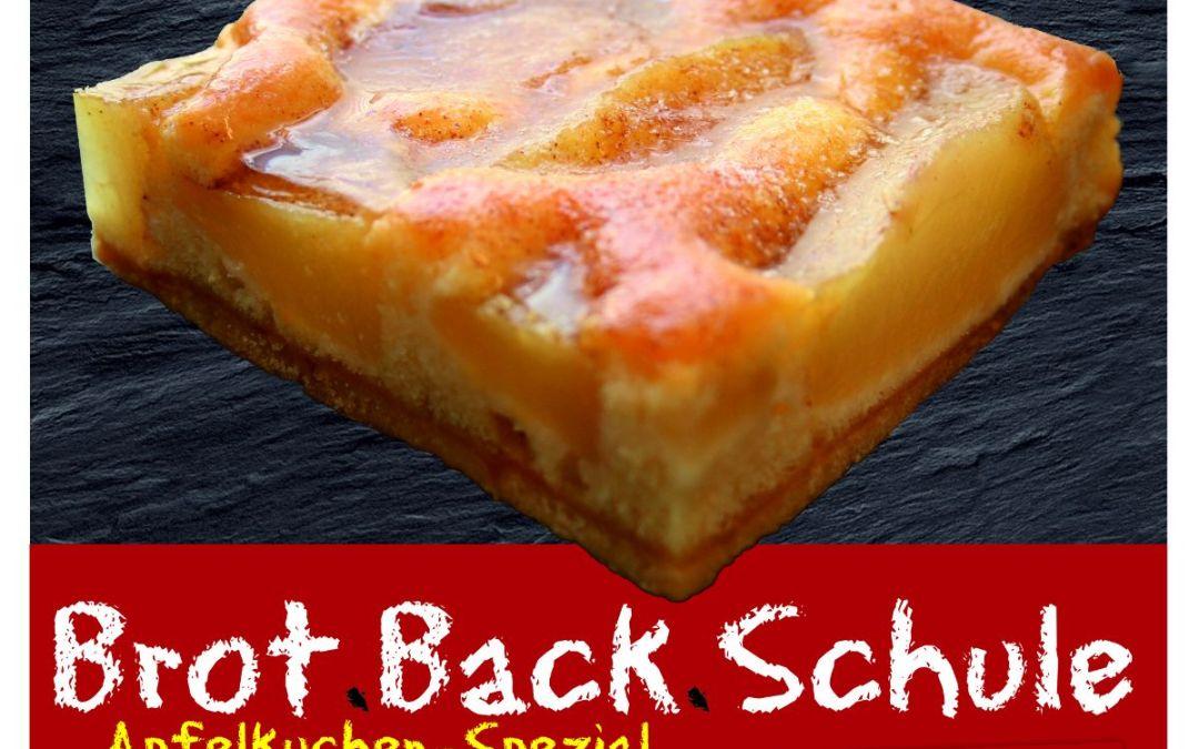 Brot.Back.Schule trifft Apfel- und Pflaumenkuchen-Fans