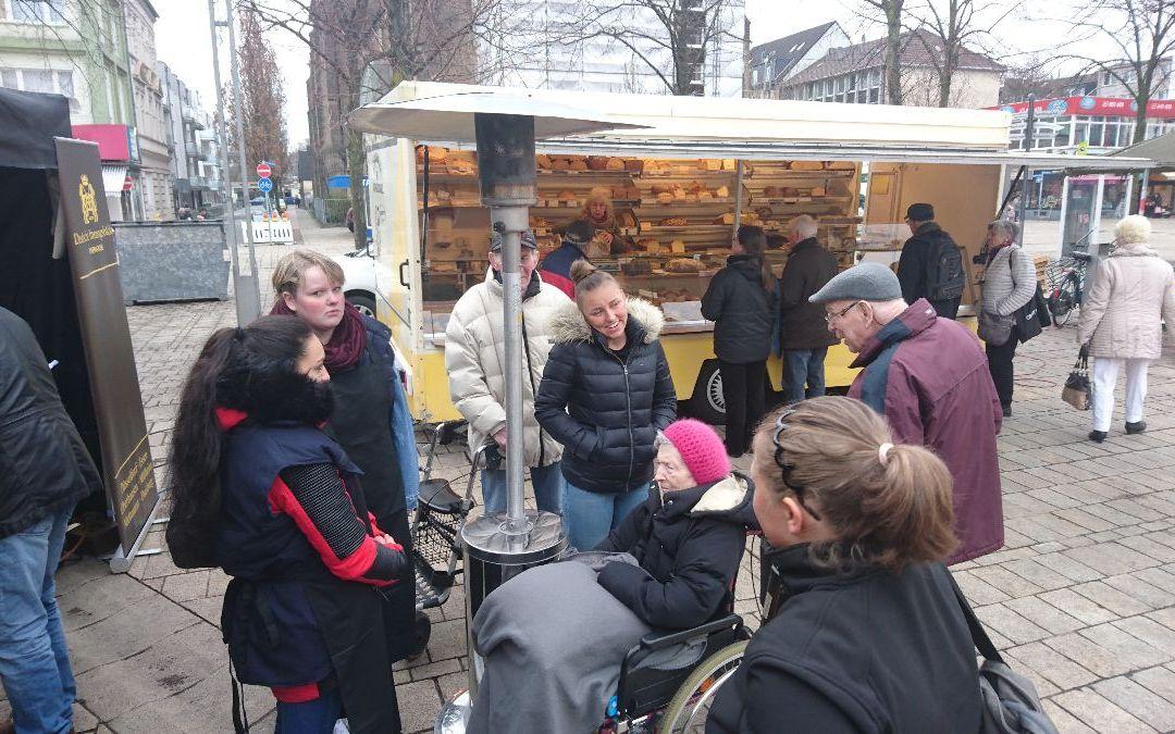 Brotprüfung auf dem Altmarkt – Bericht