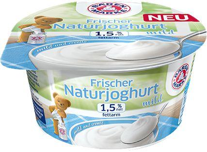 Ab morgen kostenlos zum Einkauf beim Handwerksbäcker: Bärenmarke Naturjoghurt Probe!