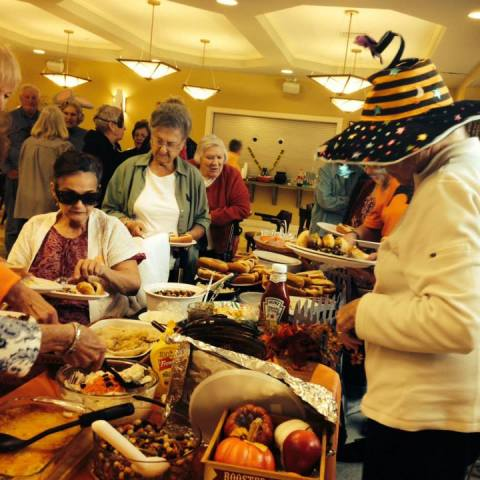 Woodbury Senior Center-Halloween Party