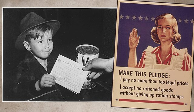 National Archives rationing