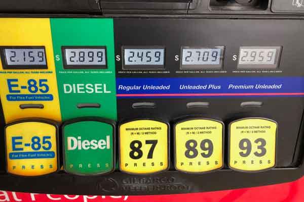 Gas Prices Drop Below Last Year's Levels, Diesel Still a