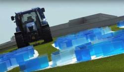 Methane Tractor