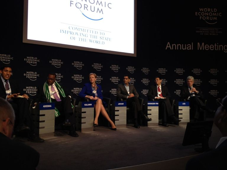 R&D is Key for Food Security: Davos Discussion