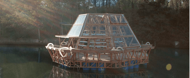 Futuristic Jellyfish Barge Offers Floating Food Scarcity Solution to Farming-Challenged Regions