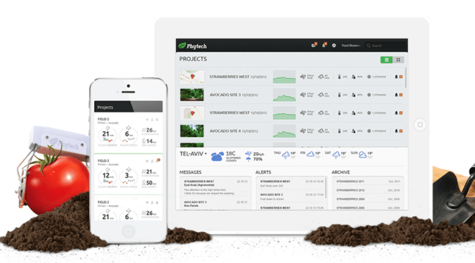 Syngenta Ventures Invests in Phytech, the 'FitBit for Irrigated Crops'