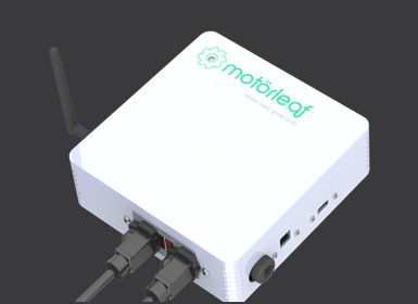 The HEART, one of 4 hardware units, simply plug it in and it starts collecting Air Temp, Humidity, & Light Level data. Connect any lighting hardware, and feeder pump and start automating their operation in seconds.