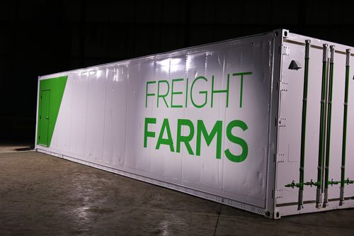Brief: Freight Farms Raises $7.3m Series B Round For Shipping Container Tech