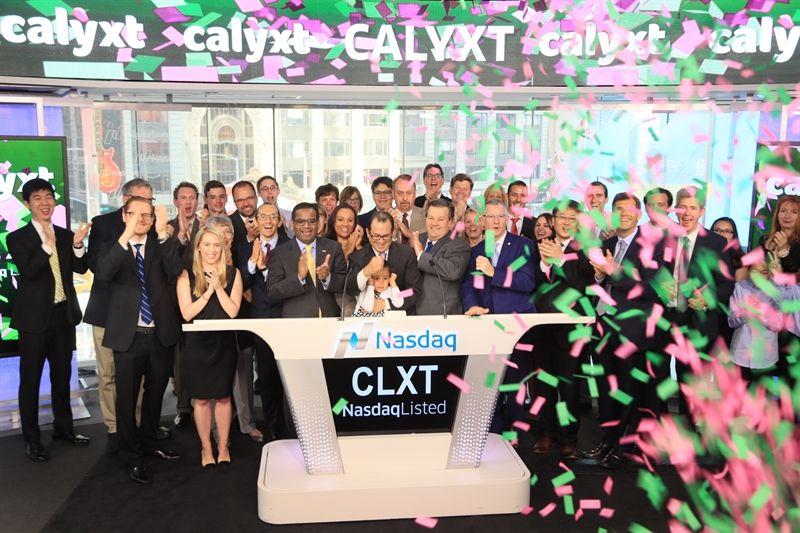 Calyxt gene editing IPO
